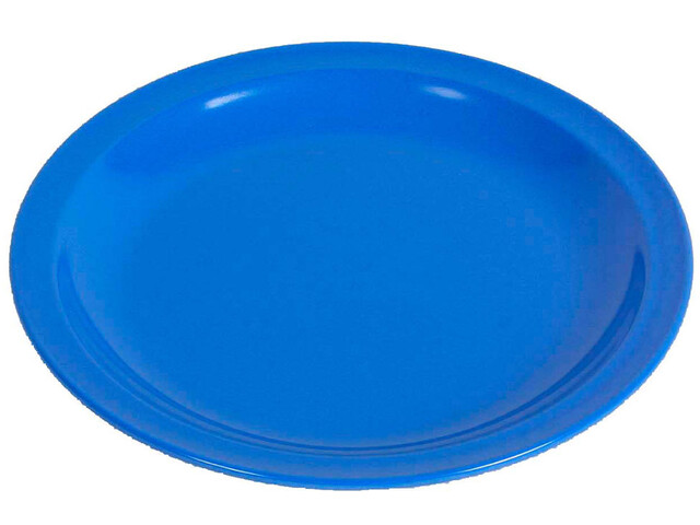 Waca Cake plate melamine, 19,5, different colors grey/blue
